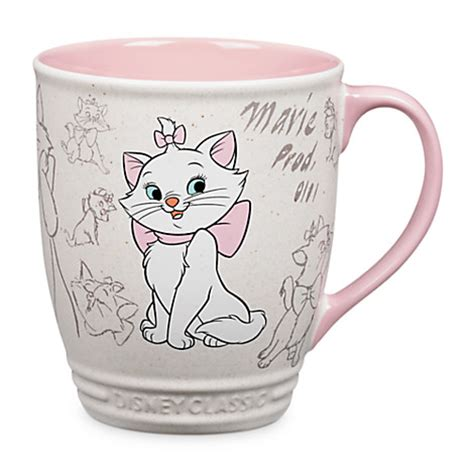 Your WDW Store   Disney Coffee Cup Mug   Marie   Classics