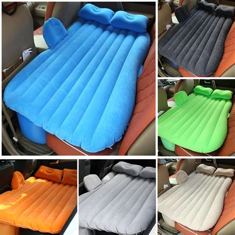 travel back seat auot car flocking bed air mattress travel bed