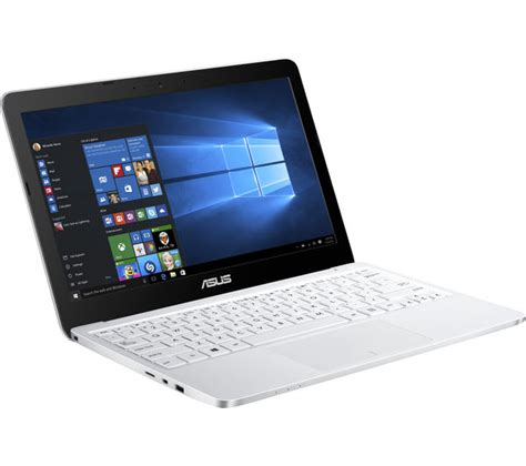 Laptop Asus X43e White asus e200ha 11 6 quot laptop white deals pc world