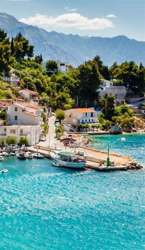amazing adriatic bay at split croatia travel