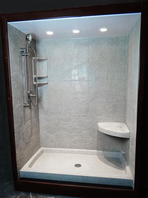 30 X 60 Shower Base With Seat by Product Gallery Northwest Products Custom Cultured