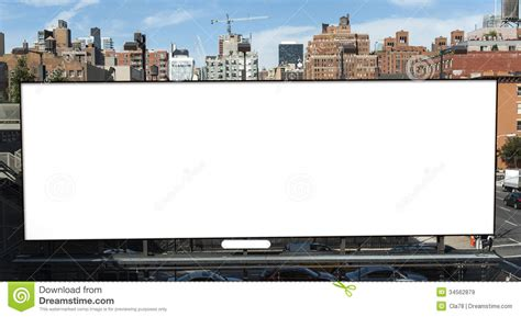 bid now billboard stock image image of blank banner large
