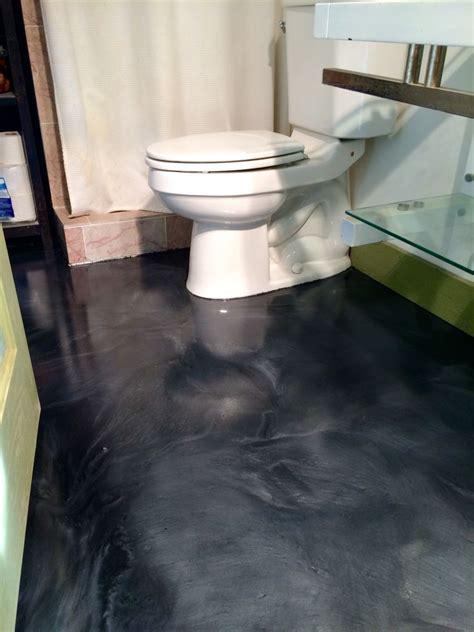 metallic epoxy floor  satin  slip finish  sierra