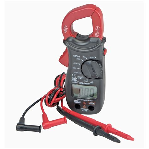Probe Multimeter cl meter cen tech digital cl meter 96308