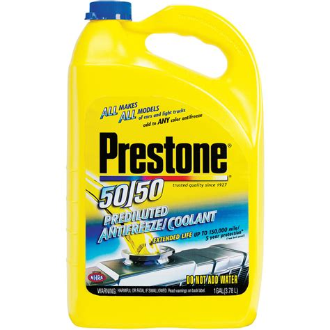 Home Improvement Ideas Bathroom shop prestone 50 50 antifreeze at lowes com