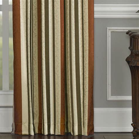 striped drapes window treatments mercury stripe window treatment