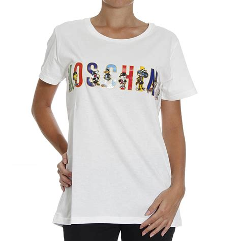 Moschino Tshirt moschino t shirt in white lyst