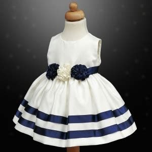 Dress Rabbit Bolero Ribbon navy ivory ribbon rosette dress bolero jacket baby toddler junior flower