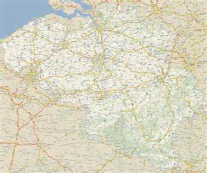 road maps road map of belgium size