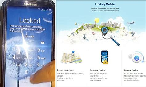 samsung find my mobile samsung find my mobile bug lets hackers remotely lock