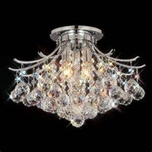 Chandelier Costco Costco Contour Flush Mount Chandelier In Polished Chrome