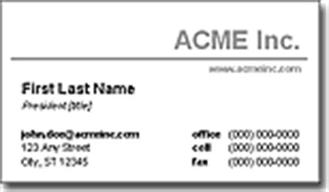 business card templates by vertex42 free business card templates for microsoft word