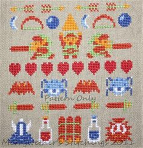 zelda release pattern cross stitch on pinterest cross stitch patterns counted