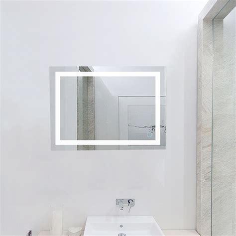 Rahmenlose Badezimmerspiegel by Badspiegel Led Badezimmerspiegel Beleuchtet Bad Spiegel