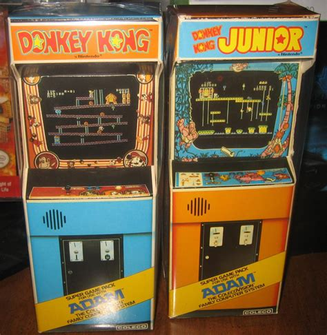 Gamis Adem colecovision adam kong and dk junior