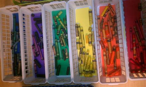 markers and colored pencils play based classroom organize your crayons markers and