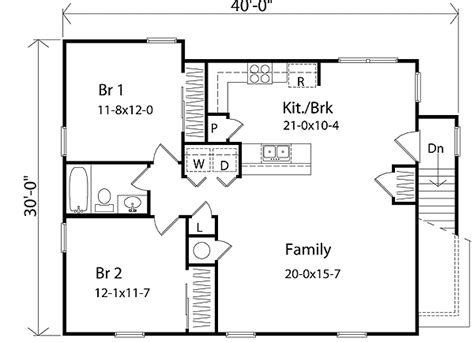 Garage Apartment Floor Plans by Plan W2236sl Affordable Garage Apartment E