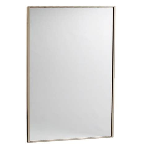 wall to wall mirror metal framed wall mirror west elm