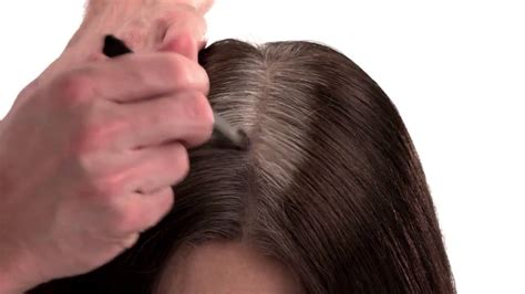 high lighted hair with gray roots cover grey roots dark regrowth instantly youtube