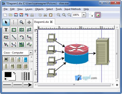 dia flowchart software dia drawing software 28 images dia for windows windows