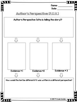 Author's Perspective (Posters and Graphic Organizer) by