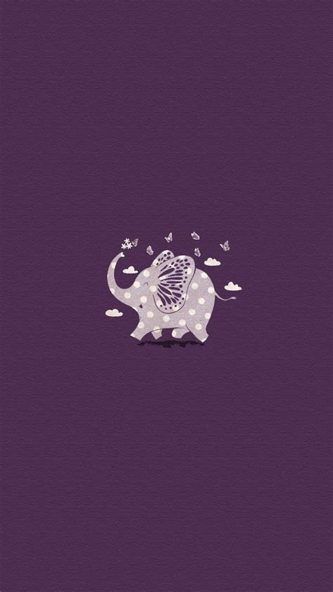 wallpaper iphone elephant purple elephant iphone wallpapers pinterest