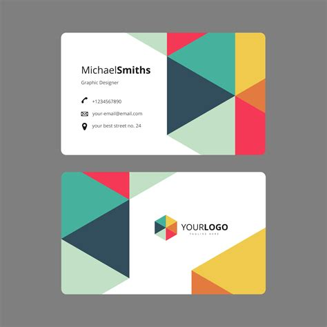 Graphic Designbusiness Card Template by Graphic Design Business Card Template Vetores E