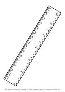 Draw To Scale Online step by step drawing tutorial on how to draw ruler