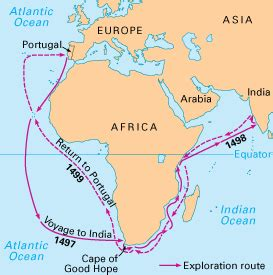 vasco da gama journey vasco da gama s voyage routes explorers