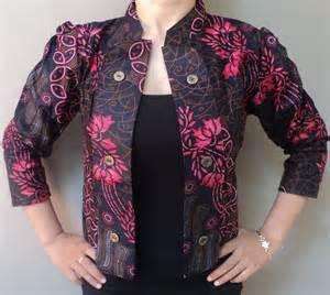 Batik Kerja Wanita 1 blazer wanita septiagustina736