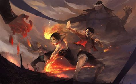 epic one piece tattoo one piece ace wallpapers wallpaper cave