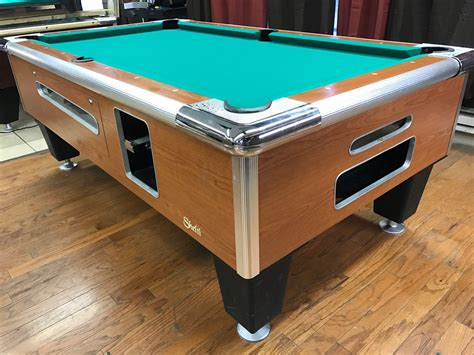 used coin operated pool tables table 0412117 shelti used coin operated pool table used