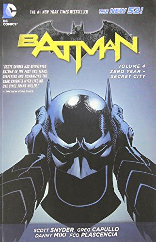 Batman Vol 4 Zero Year Secret City The New 52 Ebook E Book batman vol 4 zero year secret city the new 52 batman dc comics paperback momoandme
