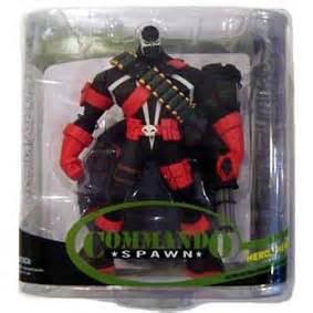 Mcfarlane Spawn Commando Series 32 commando spawn s 233 rie 32 arte em miniaturas