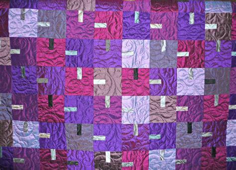 Silk Quilt by Purple Silk Quilt Kit