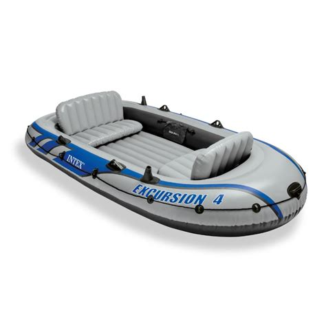 opblaasbare boot 4 personen 4 person boat inflatable raft fishing dinghy floating