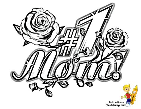 coloring pages for your mom marvelous mothers day coloring pages yescoloring free