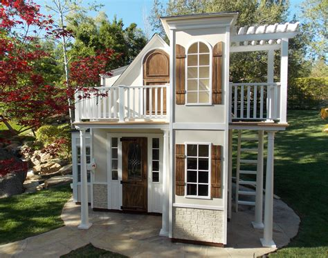 castle play house childrens custom playhouses diy playhouse plans lilliput