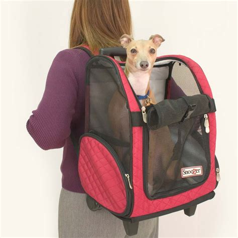 puppy carriers snoozer roll around travel carrier 4 in 1 3 colors sizes