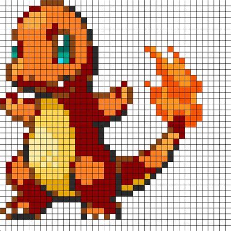charmander pixel template 25 best ideas about perler on