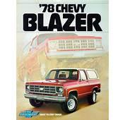 Car Brochures  1978 Chevrolet And GMC Truck