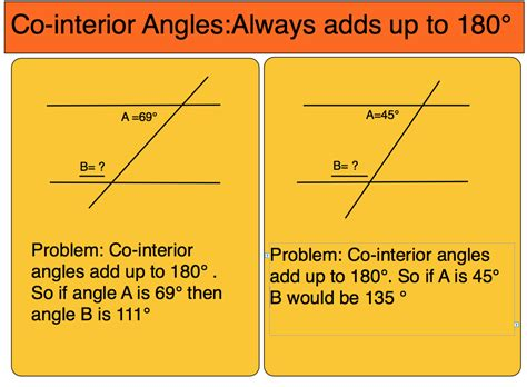 Co Interior Angles Are Equal by Room5 Co Interior Angles Adds Up To 180 Degrees