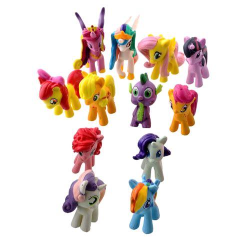 Figure Pony Set 4 Pcs set my pony figure pajangan mainan kuda 4
