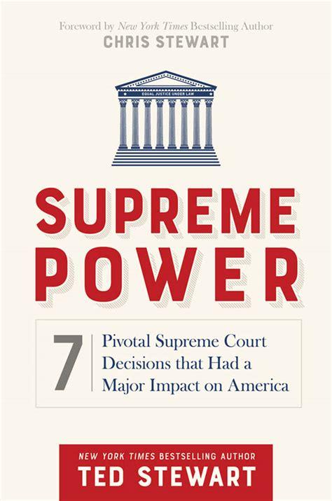 supreme power supreme power 7 pivotal supreme court decisions that had