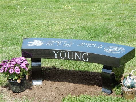 memory bench our portfolio of granite memorial benches and monu benches