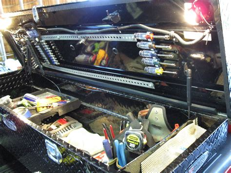 Car Toolbox Tool Storage Car Trunk Storage Organizer Mo Diskon 2 lights in the truck box awesome products i truck boxes box and lights