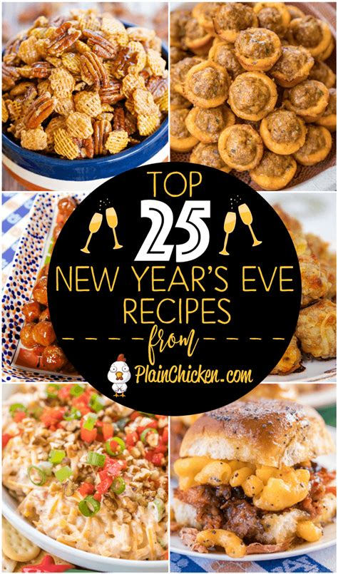 new year recipes easy top 25 new years recipes plain chicken