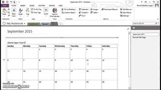 onenote calendar template onenote for homeschool insert monthly calendar