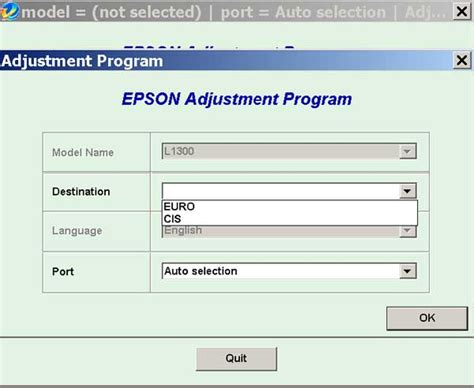 resetter epson l1300 adjustment program epson l1300 resetter key