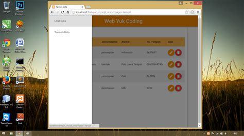 membuat web dengan oop php membuat crud dengan php mysqli oop yuk coding